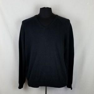 J. Crew V-Neck Sweater Cotton Blend Men's L